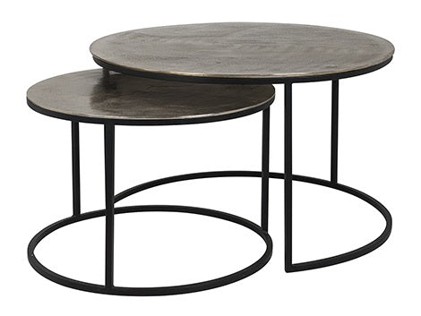 Iron Coffe Table set of 2