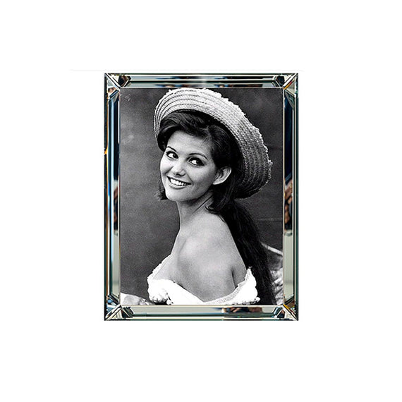 Mirror Frame Picture Claudia Cardinale