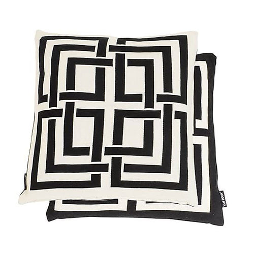 Cushion Mykonos Black