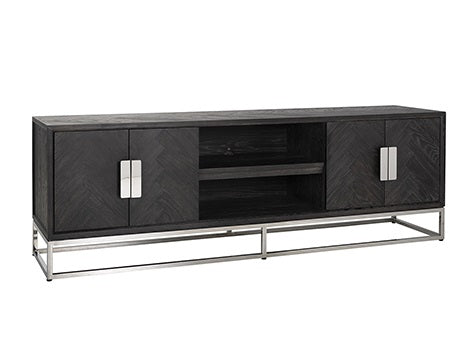 TV-Bench Blackbone Oak 185 cm