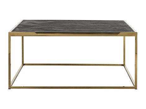 Coffee table Blackbone gold 90 cm