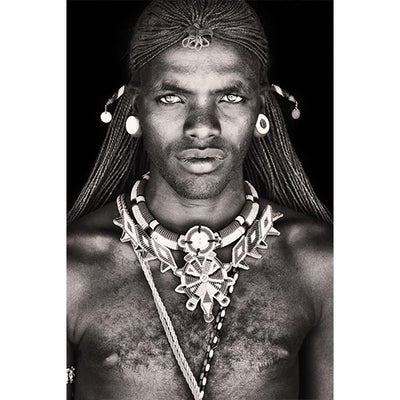 Samburu Warrior Kenya Africa Picture