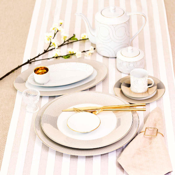 Porcelen Tableware Infinity