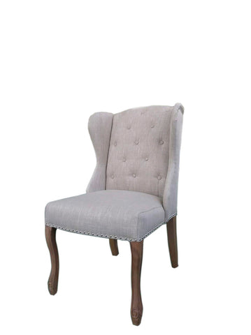 Luxury Dining Chair Flax Linen