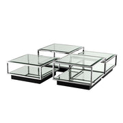 Coffee Table Tortona Silver