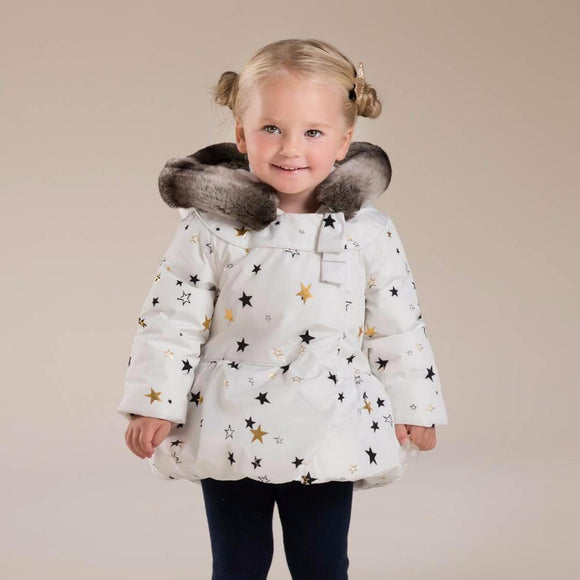 Baby Girls padded clothing coat