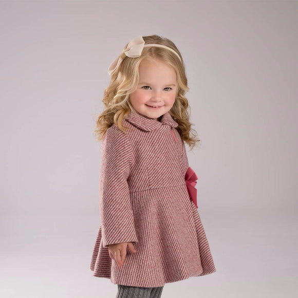 Baby girls wool coat winter outerwear