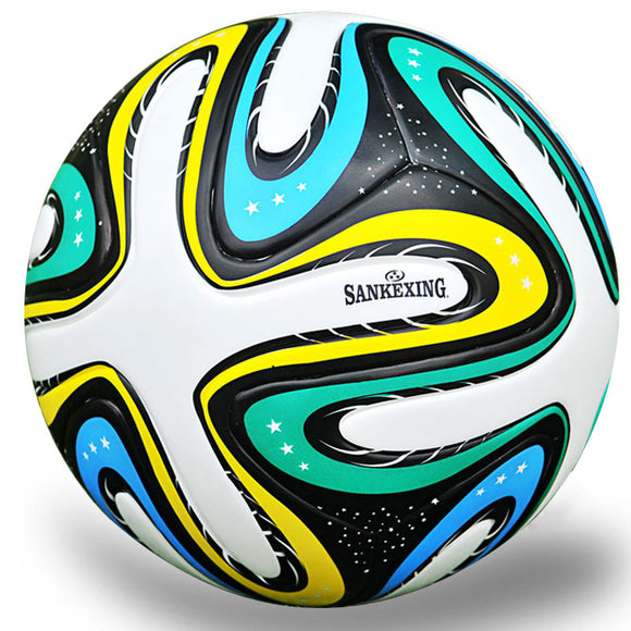 High Quality 2017 Official Standard Match Soccer Ball Size 5 PU Soft For Kids