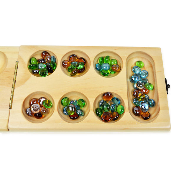 Mindlab Collection Mancala Africa Gem Puzzle Board Game