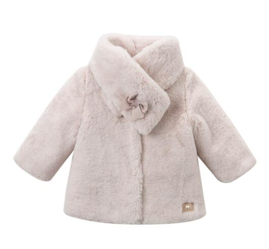 Winter girls coat children outerwear boutique kids clothing