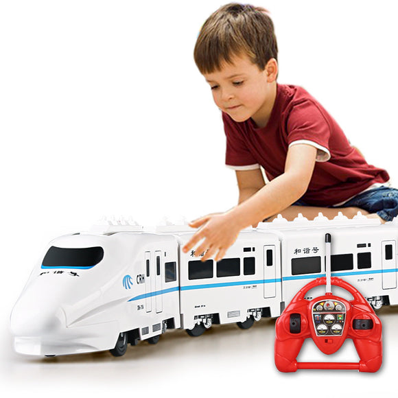 Electric Remote Control Train For Kids -  82cm 4W RC ElectricTrain