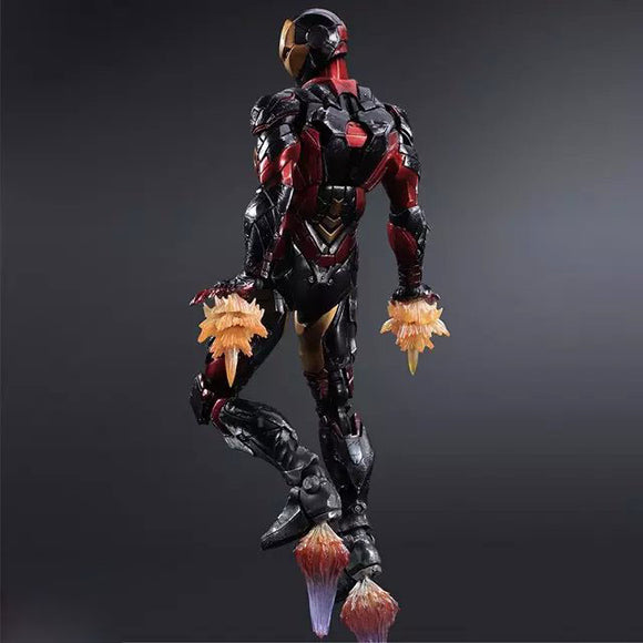 Iron Man 27cm 1pcs PVC Figures Play Arts Kai The Avenger Iron Man Marvel Action Anime Figures Kids Gifts Toys 1229