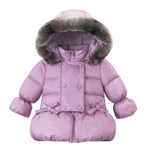 baby girls padded coat jacket
