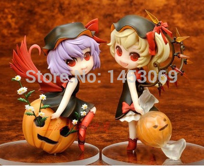 Anime TouHou Project Remilia Scarlet & Flandre Scarlet in Collectible Model Toys