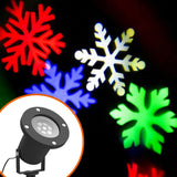 Waterproof Christmas Lights Red Green Twinkle Outdoor Projector