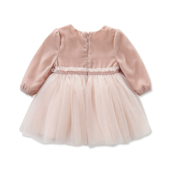 autumn baby girl fairy princess dress birthday dress