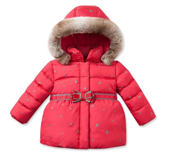 Girls down jacket outerwear Christmas