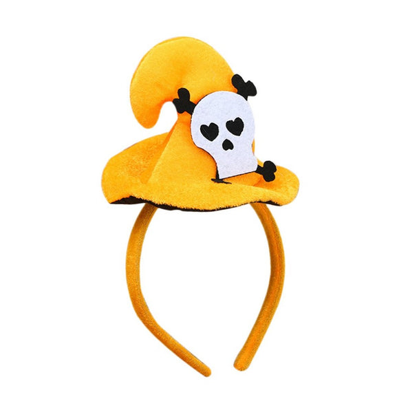 Pumpkin Halloween Hairband Bats Hair Band Skeleton Head band Fantastic Festival Hair Accessories New Arrival