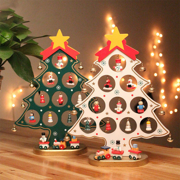 Wooden Christmas Tree Gift for Children