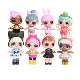 BEST PRICES LOL BABIES - 8 PCS/Lot 8 - 9 Cm LOL Surprise Dolls Lol Baby Cute 8 Different Models And Cute Clothing Surprise Doll