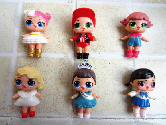 1pcs BEST PRICE LOL DOLLS - Random LOL SURPRISE DOLL 7.5-9CM Action Figure LOL Doll