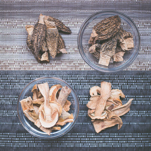 Gourmet Dried Mushrooms collection