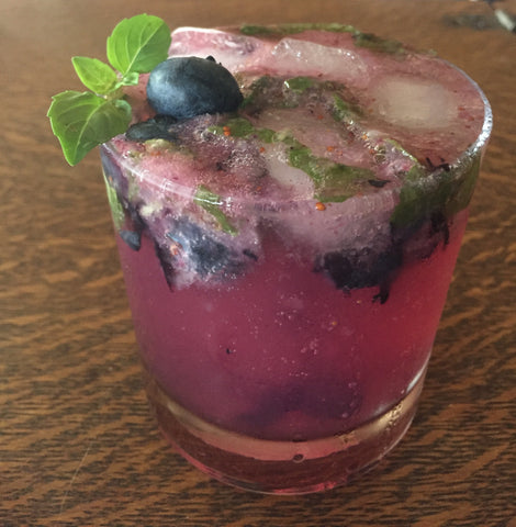Bittersweet Blues Vanilla Blueberry Cocktail