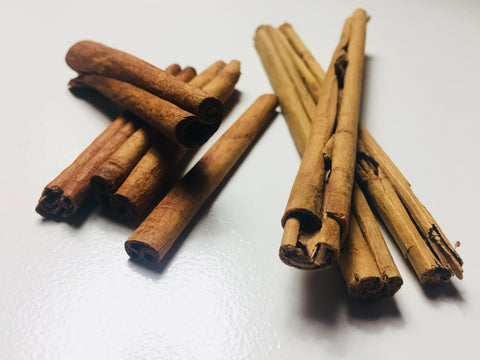 Difference between ceylon and cassia cinnamon