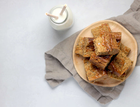 Vanilla and Salte De Leche Oat Bar Recipe