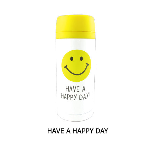 Smiley | Water Bottle | Stainless Steel (4586653352010)
