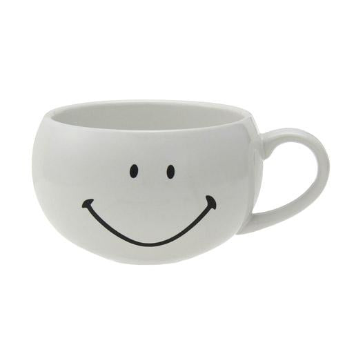 Smiley | Mug with Spoon | White | 正價 (1680821092386)