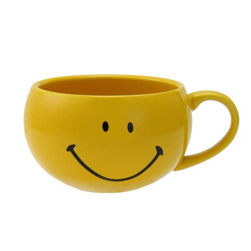 Smiley | Mug with Spoon | Yellow | 正價 (1680822173730)