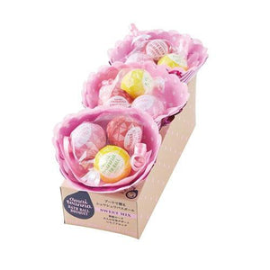 Flower Bath Ball Set | Pink