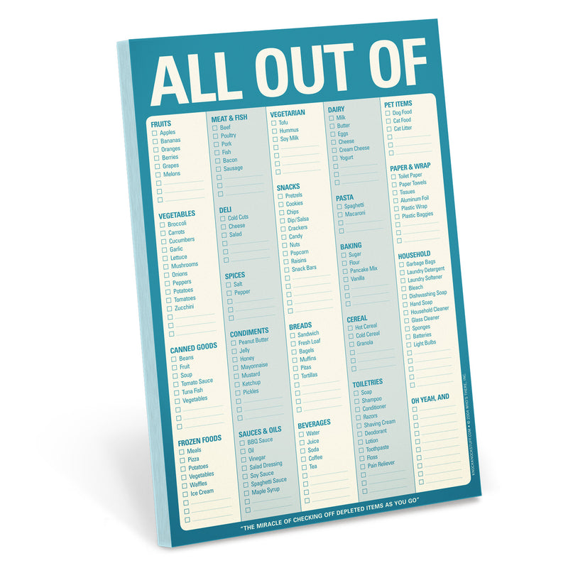 All Out Of Pad (Blue) (with magnet) (197169872907)