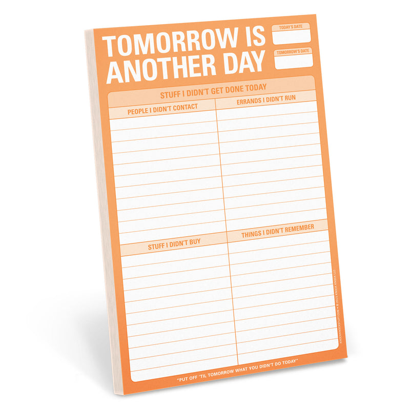 Tomorrow is Another Day Pad (197169479691)