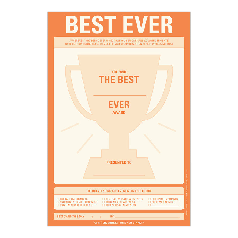 Best Ever Pad (197169217547)