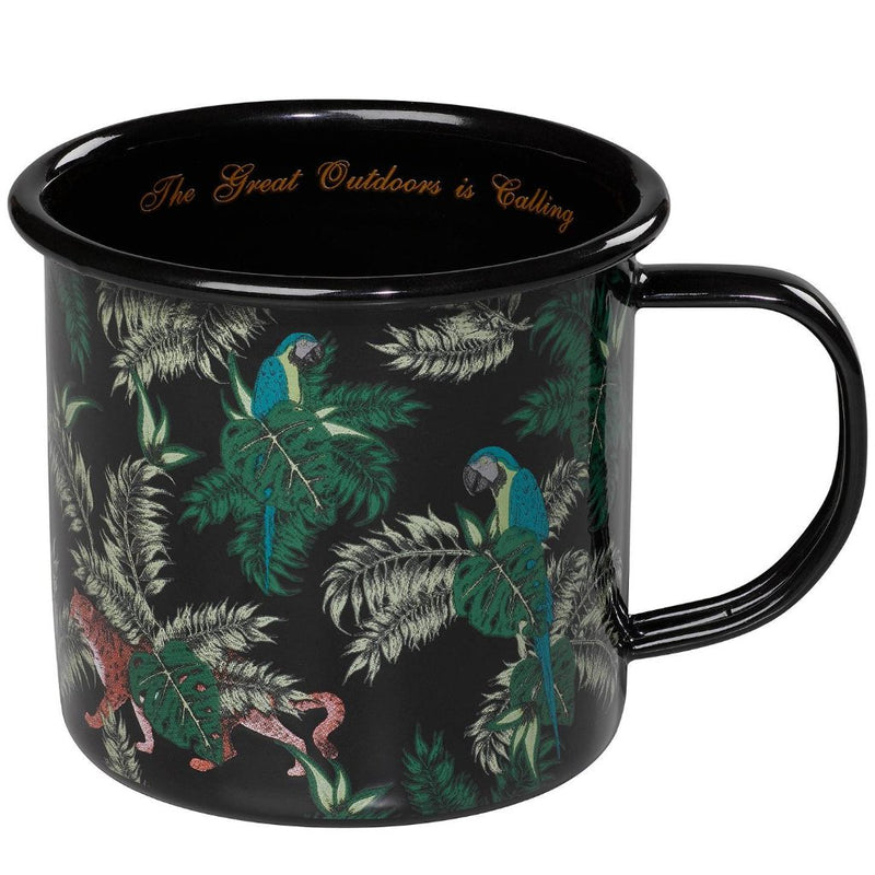 Enamel Mug | Jungle print