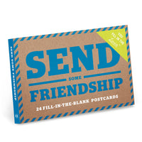 Send Some Friendship Postcard Book