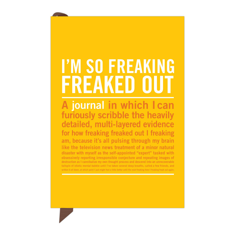 Mini IÕm So Freaking Freaked Out Journal