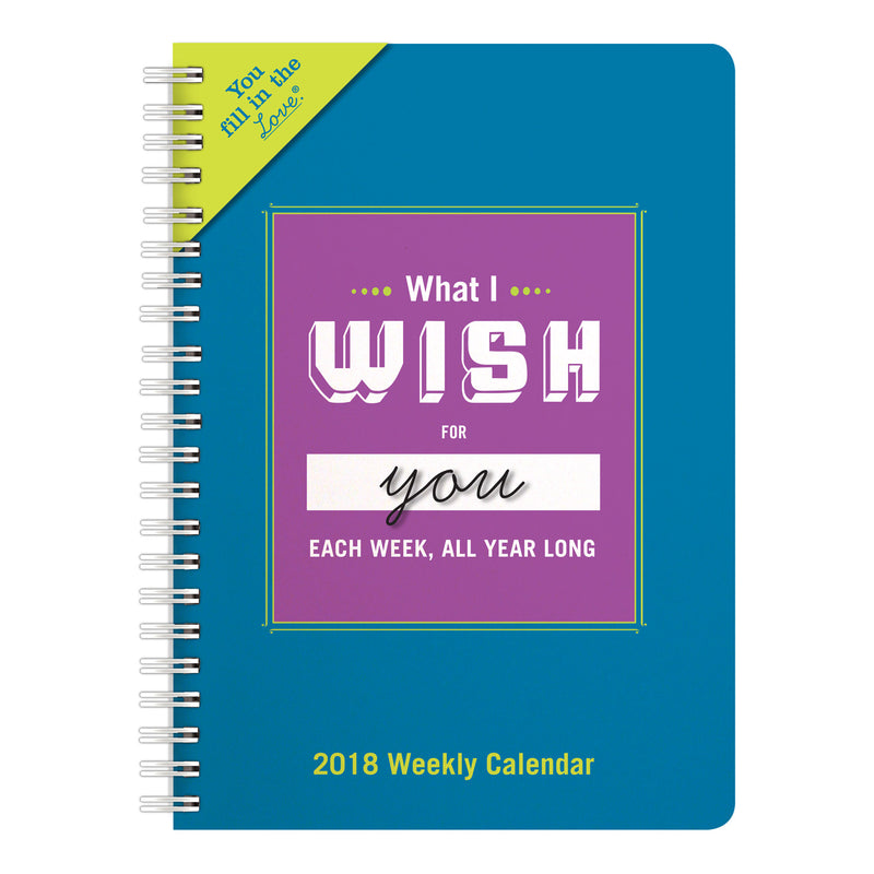 Wish for You This Year Weekly Calendar