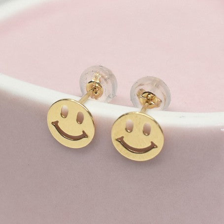 Smiley | Earrings | Yellow (4586650665034)