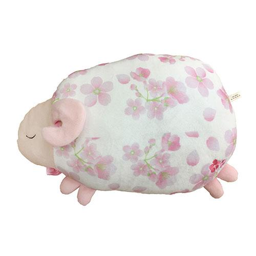 Sheep Cushion | Cherry Blossom (Small) (1716582121506)