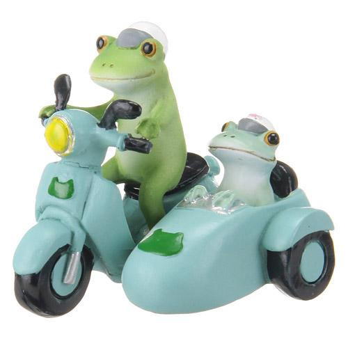 Copeau Display | 70850 | Frog on Motorcycle (1399954309154)