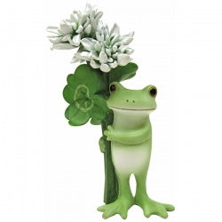 Copeau Display | 71451 | Frog with White Flower (1510137135138)
