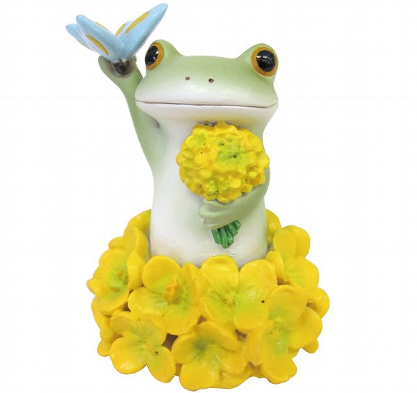 Copeau Display | 71712 | Frog in Yellow Flower