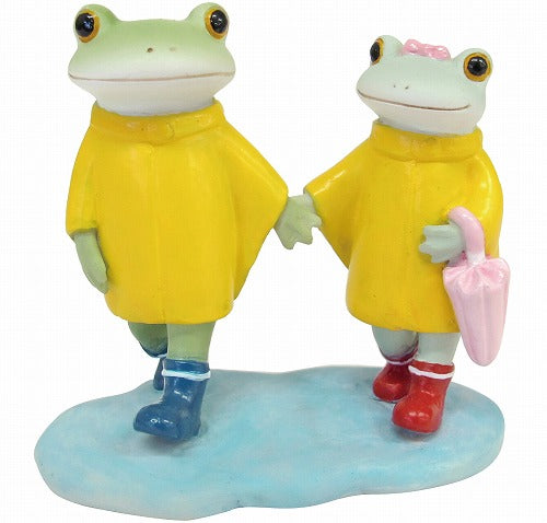 Copeau Display | 71720 | Frog Couple in Rainy Day (1477150375970)