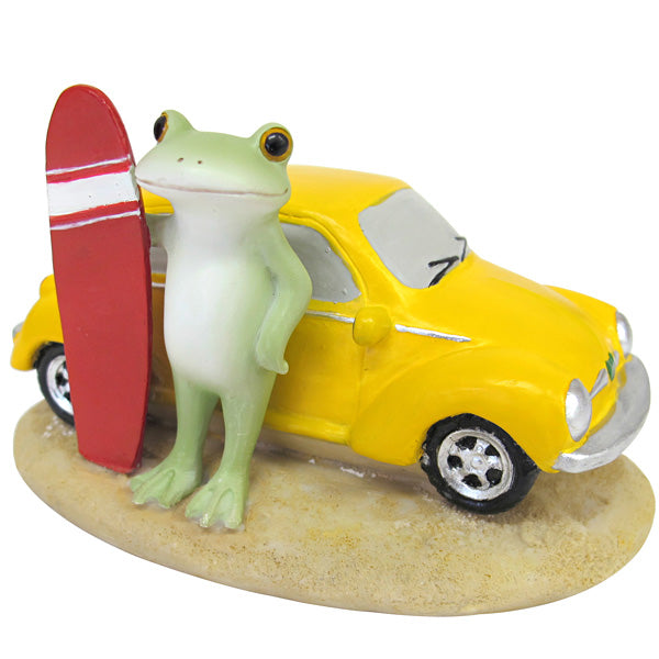 Copeau Display | 71731 | Frog with Yellow Car (638839685154)