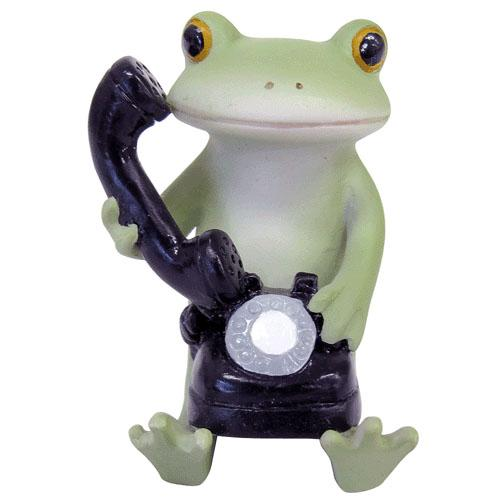 Copeau Display | 71733 | Frog Holding Phone (1661574021154)