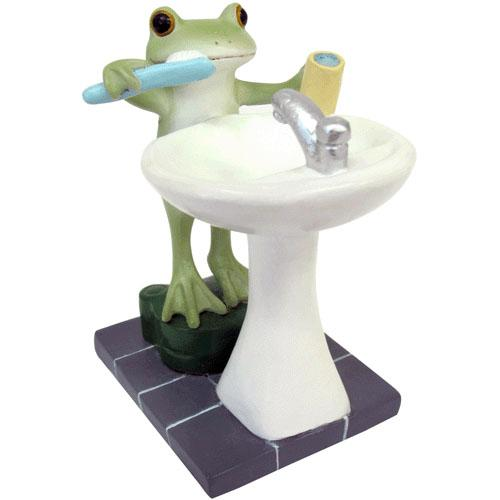 Copeau Display | 71742 | Frog Brushing Teeth (1406907121698)