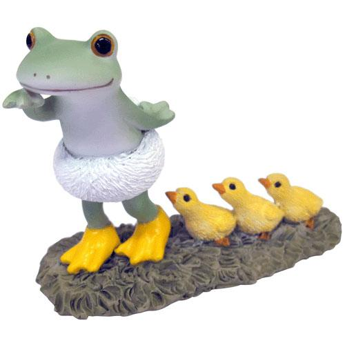 Copeau Display | 71749 | Frog with Ducks (1477193629730)